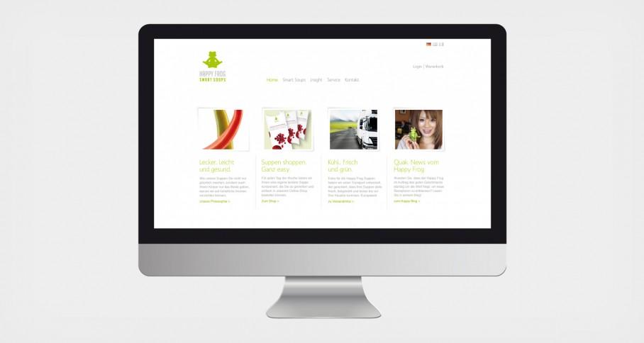 Happy Frog Website 1