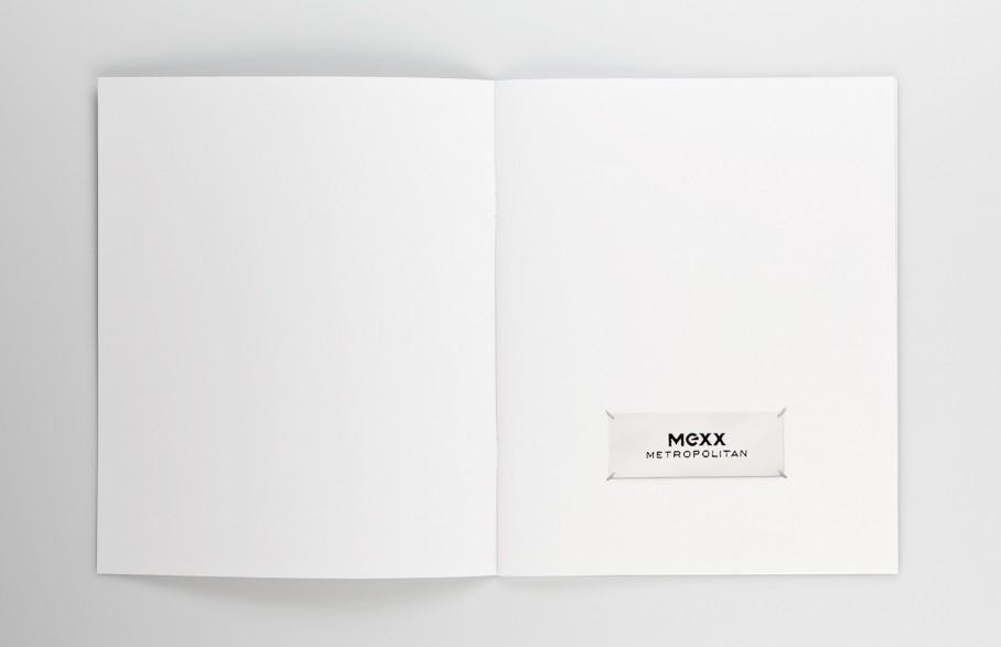 Mexx Metropolitan Lookbook Broschuere Seite 1