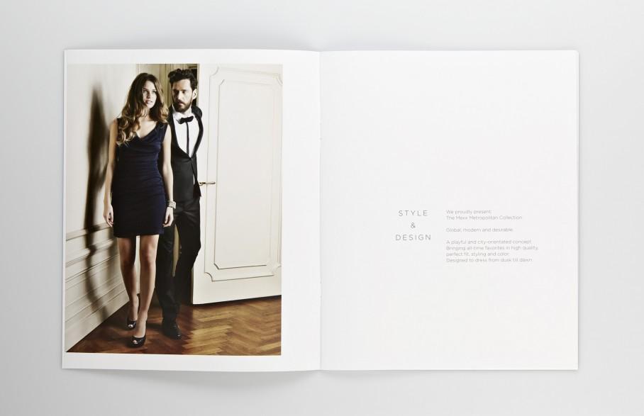 Mexx Metropolitan Lookbook Broschuere Seite 2