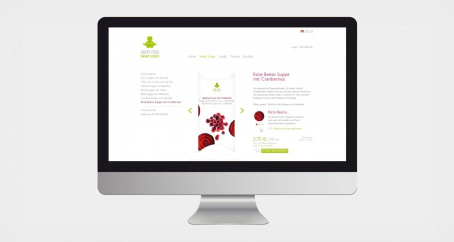 Happy Frog Website 2