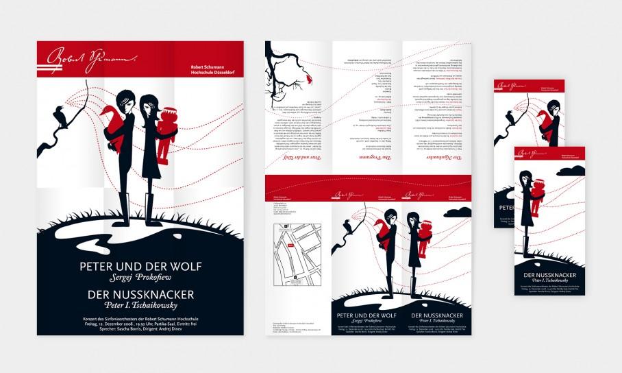 Robert-Schumann-Musikhochschule Flyer