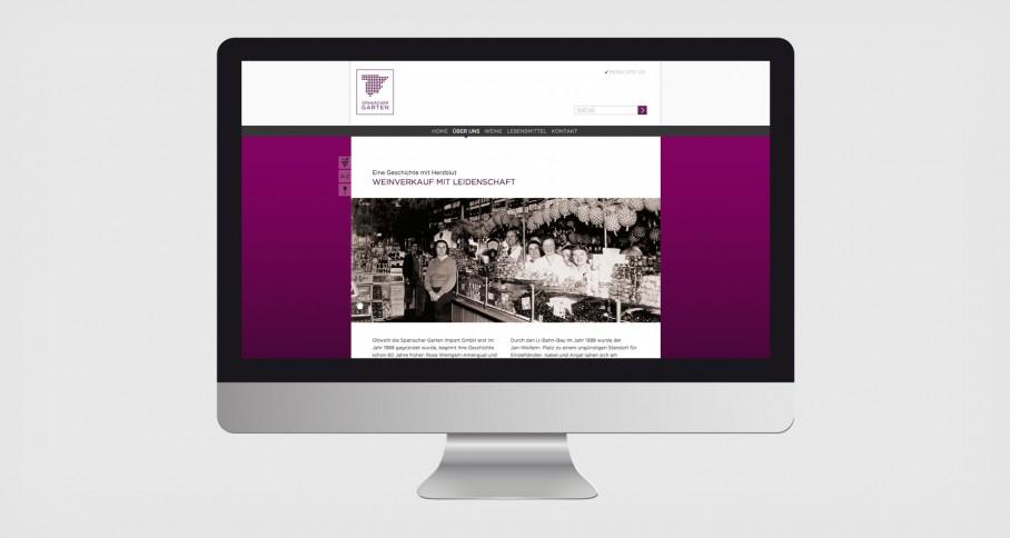 Spanischer Garten Website 1