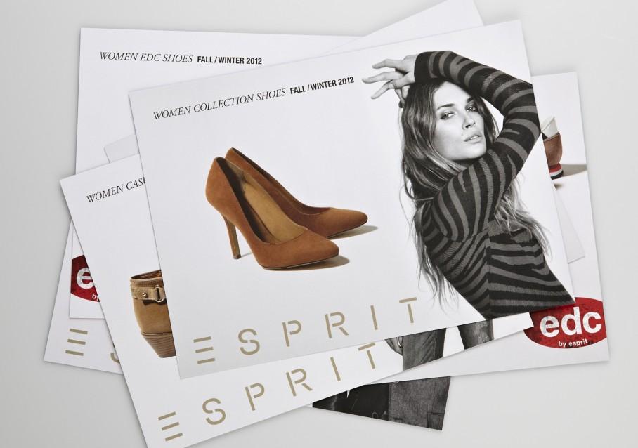 Esprit Shoes Salessheets Uebersicht 1