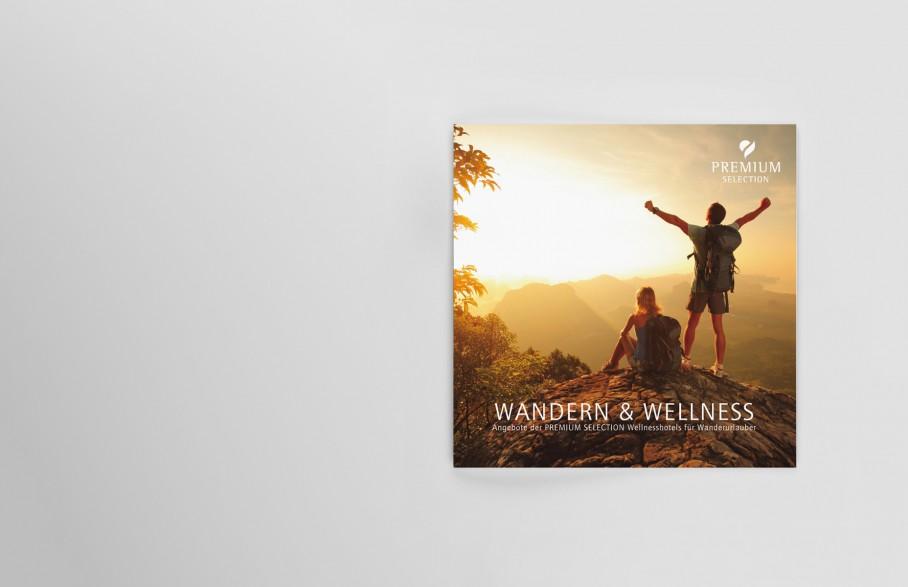 Premium Selection Wandern Und Wellness Broschuere Cover